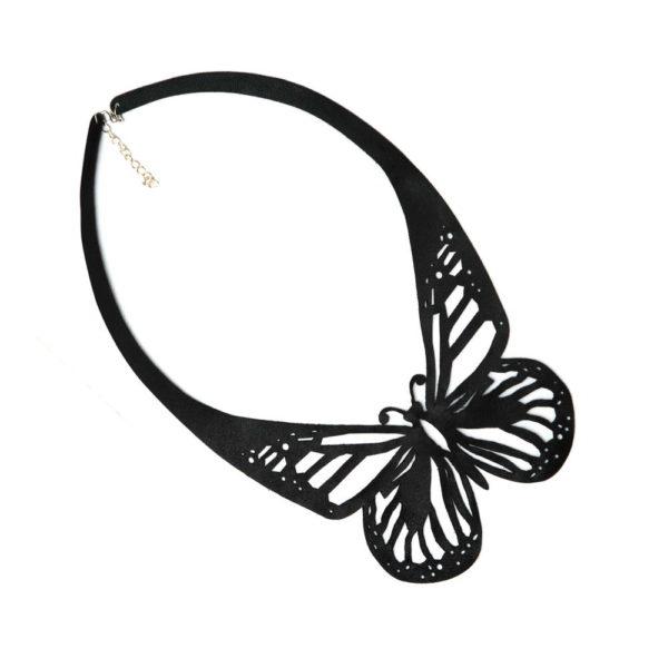колье бабочка