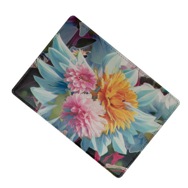 обложка с цветами